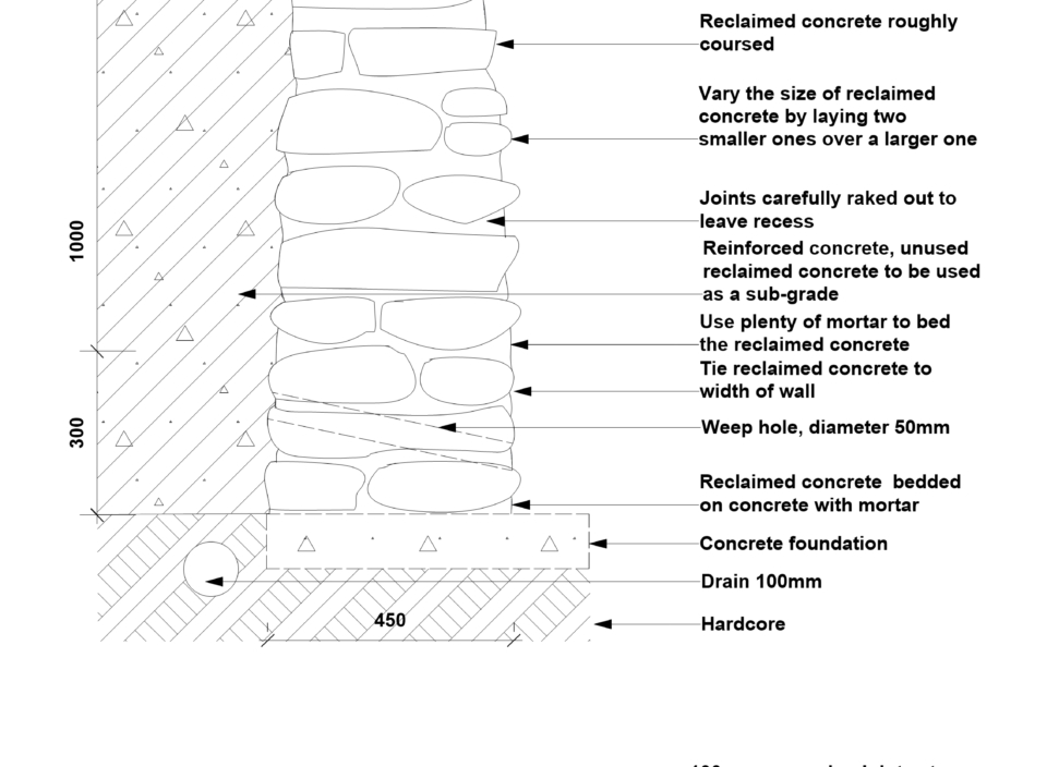 Construction drawings – retain.wall & paving newest