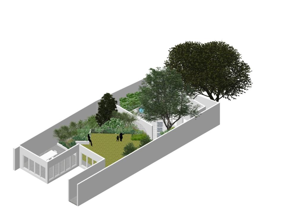 P2-3DVW-Hampton Wicks garden